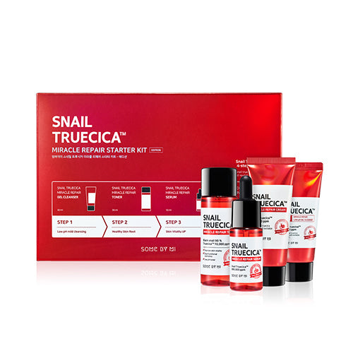 SOME BY MI - Snail Truecica Miracle Repair Starter Kit (4 pcs)