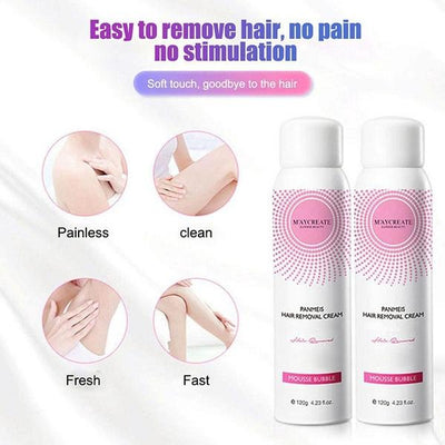Permanent Natural Hair Removal Spray