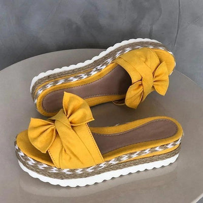 Dr. CARE™ - PREMIUM Casual Comfy Bowknot Slip On Sandals