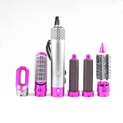 5 In 1 Rotating Brush Hot Air Styler Comb Curling Iron iciCosmetic™