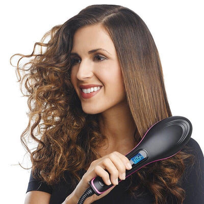 WONDER BRUSH™️- 2-IN-1 STRAIGHTENER