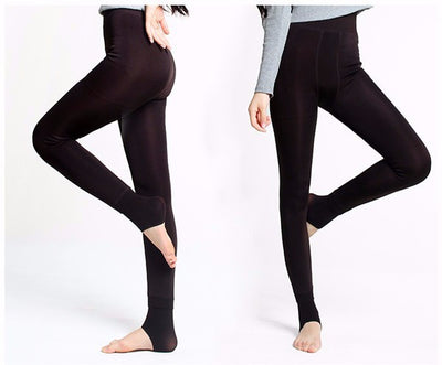 Thermal Winter Leggings Women's Warm Fleece Lined High Waist Thick iciCosmetic™
