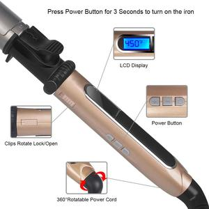 PROFESSIONAL ROTATING CURLING IRON ICICOSMETIC™