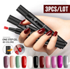3Pcs/Lot 3 in 1 Gel Nail Varnish  Pen iciCosmetic™