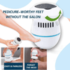 FOOT FILE AND CALLUS REMOVER WITH BUILT-IN VACUUM