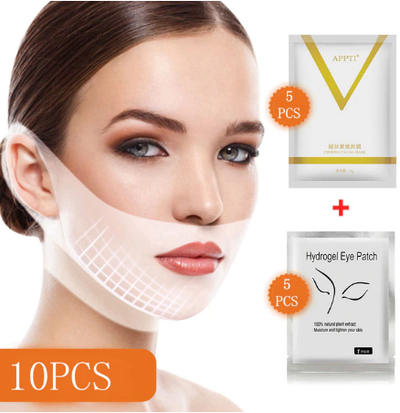 ICICOSMETIC™ LIFTING MASK+Hydrogel Eye Patch Mask (10pcs)
