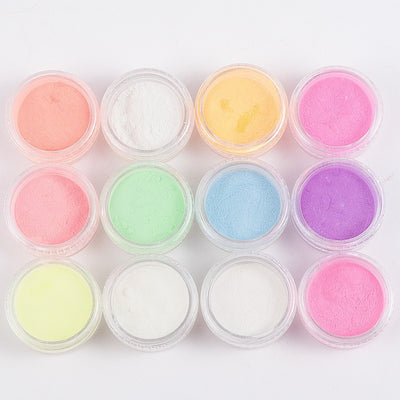 12 Boxes/Set Luminous Nail Polish Powder iciCosmetic™