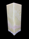Rectangle Onyx Stone Table Lamp