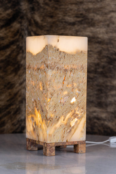 Onyx Stone table Lamp