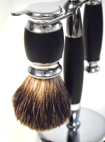 Classic badger hair shaving brush