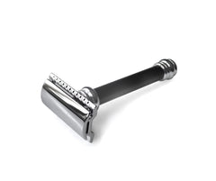 Ebony Handle Safety Razor From Merkur