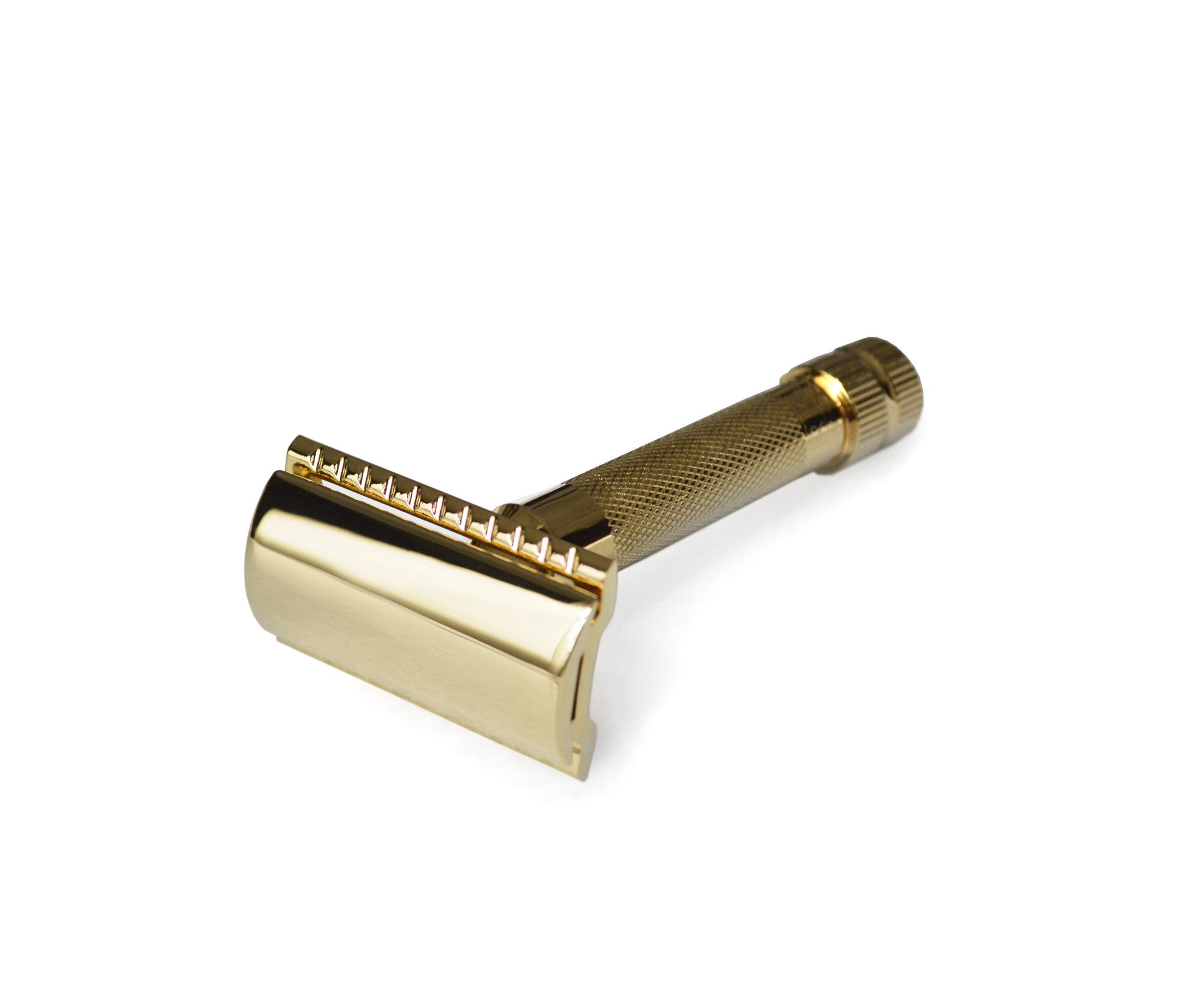 Gold-Plated Traditional Merkur Safety Razor