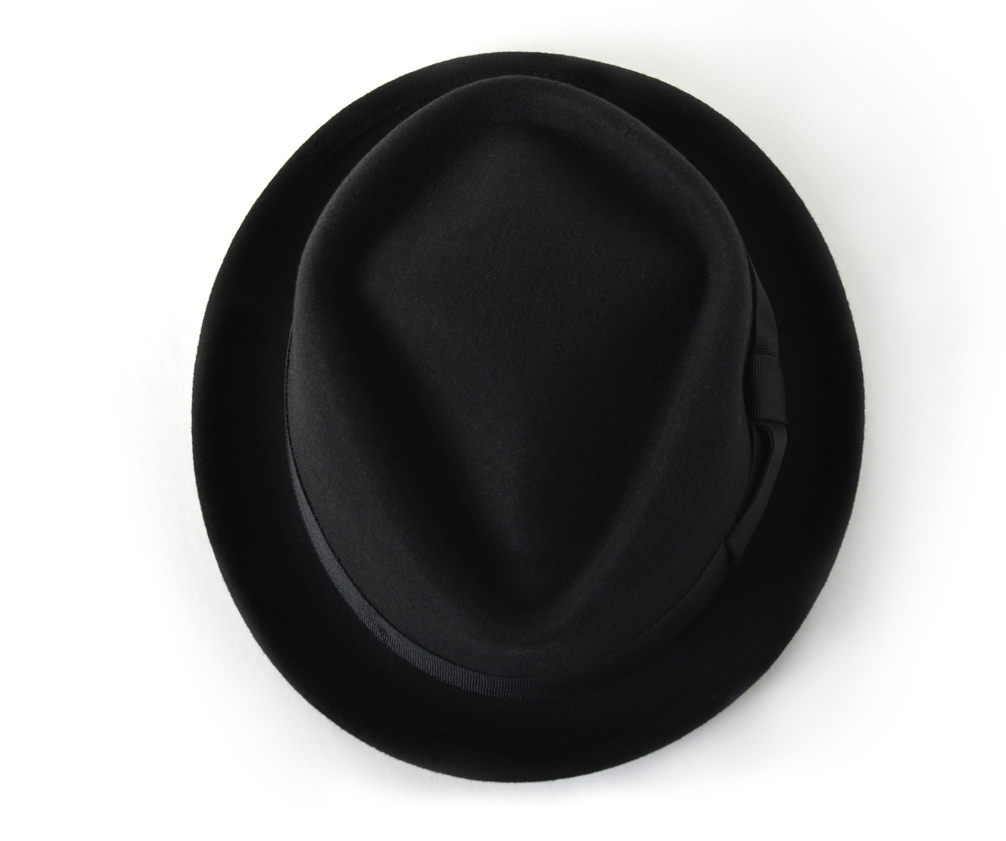 Fedora Hat Top View