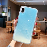 Liquid Glow in the Dark iPhone Case
