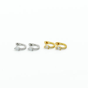 Mini Huggie Hoop Earrings