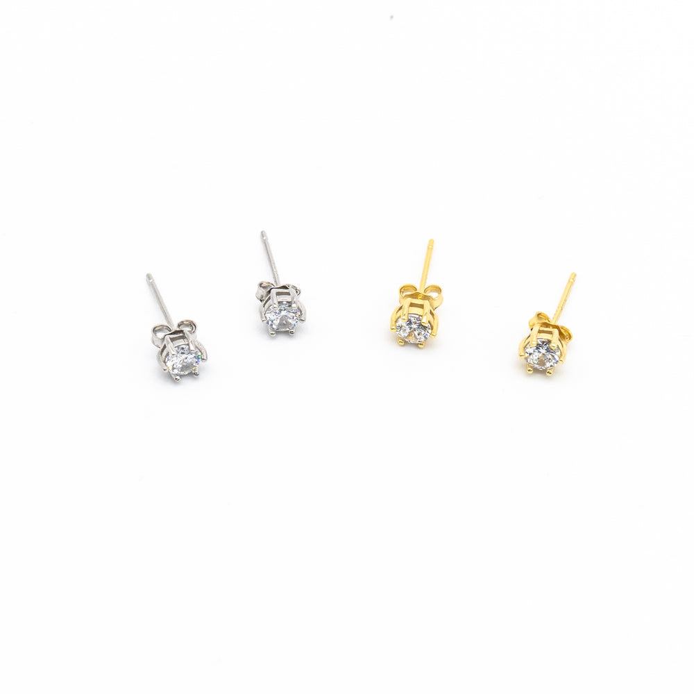Ashley 4mm Studs
