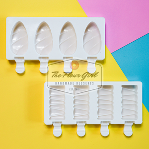 Leaf & Candy Bar Cakesicle Silicone Mold (2-Pack)
