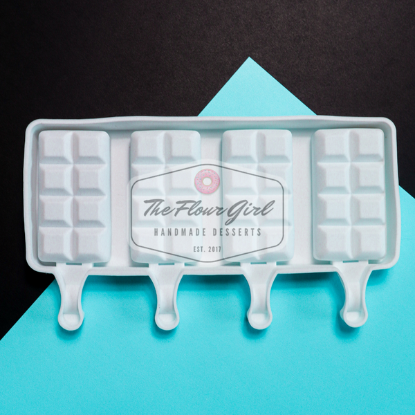 Chocolate Bar Cakesicle Silicone Mold