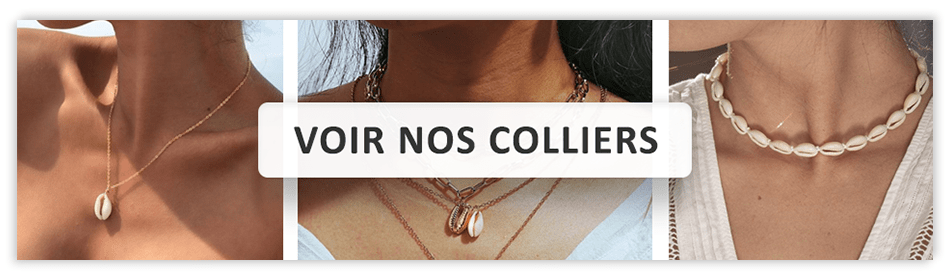 Colliers Coquillages