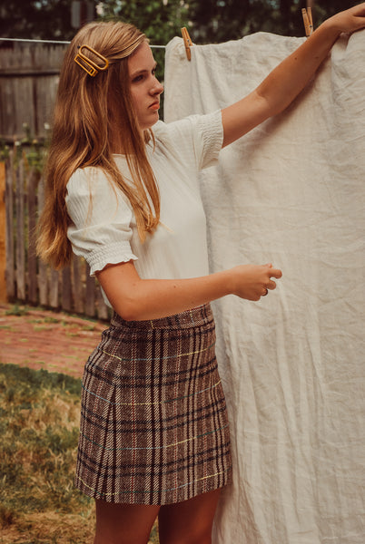 Prep in Your Step Plaid Skirt
