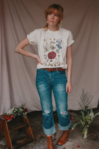 Wildflower Bouquets Tee