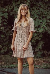 Summer Lovin' Button Front Dress