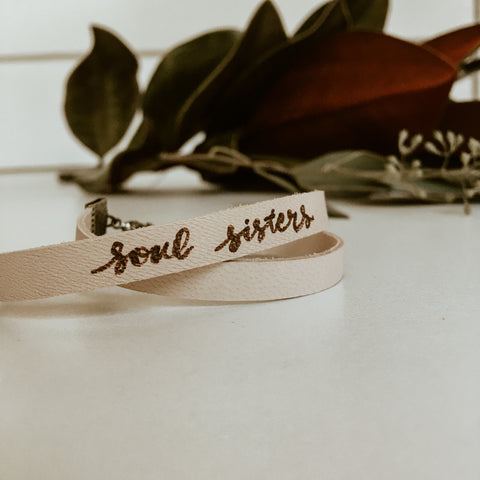 "Soul Sisters 1/4"" Double Band"