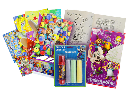 Chuck E. Cheese Kid's Activity Kit