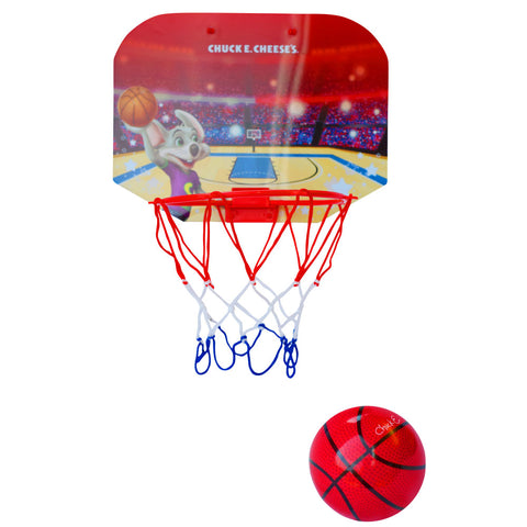 Chuck E. Cheese Mini Basketball Set