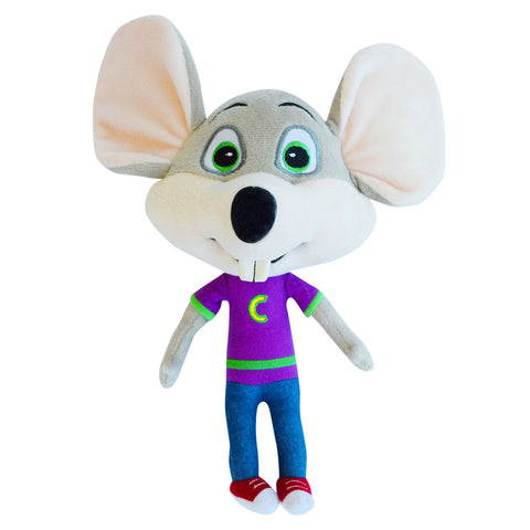 "New! Chuck E. Cheese ""Big Head"" Plush Stuffed Toy"