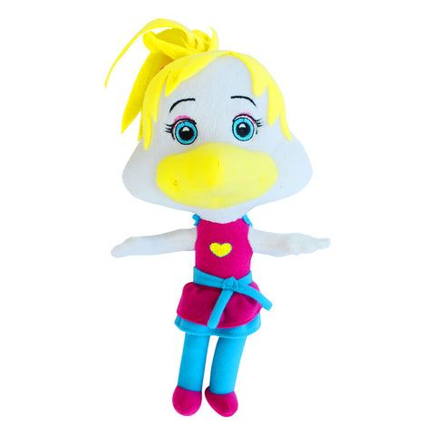 "New! Helen Henny ""Big Head"" Plush Stuffed Toy"