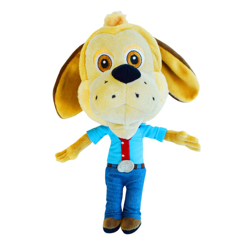 "New! Jasper T. Jowls ""Big Head"" Plush Stuffed Toy"