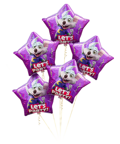 Chuck E. Cheese Let's Party Balloon Kit (Uninflated)