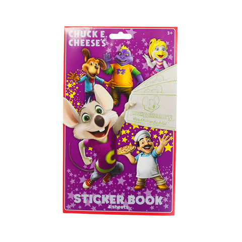 Chuck E. Cheese Sticker Book for Kids