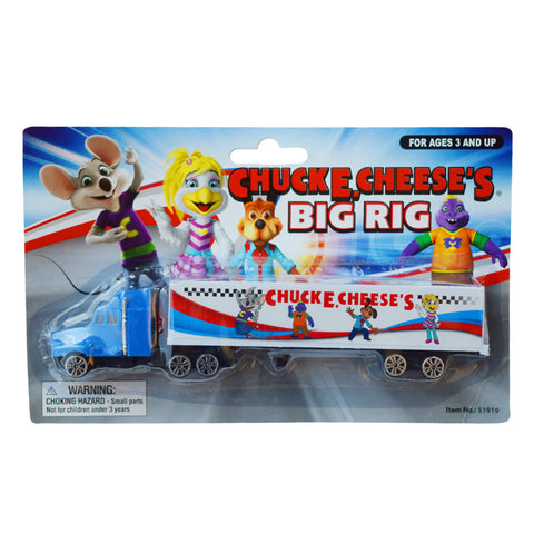 Chuck E. Cheese Big Rig Trailer Truck Toy