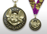 Chuck E. Cheese Birthday Medallion
