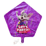 Chuck E. Cheese Let's Party Balloon (Uninflated)