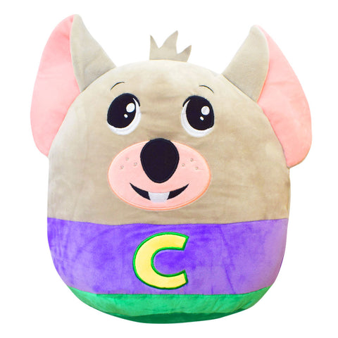 Chuck E. Cheese Squishmallow Pillow, 12""