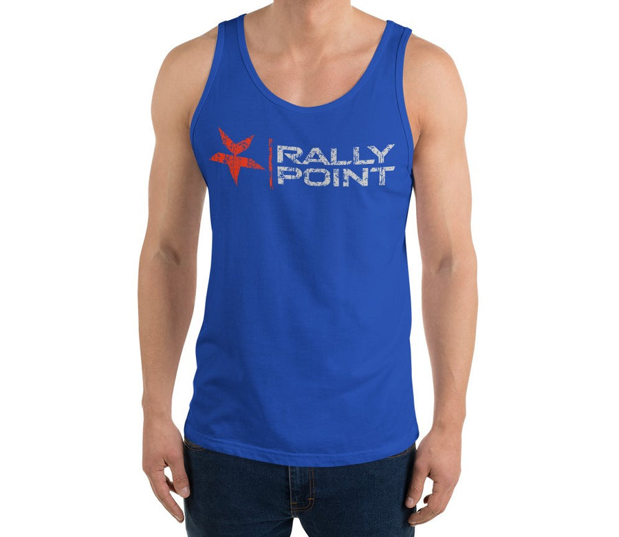 Rally Point Nutrition's True Blue Tank For Men