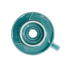 Load image into Gallery viewer, Hario V60-02 Ceramic - Turquoise Green
