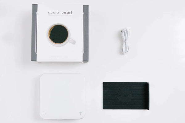 Acaia White Pearl Smart Scale