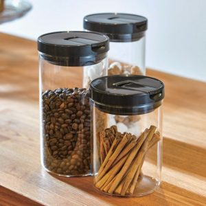 Coffee Canister Black 300gm