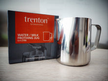 Load image into Gallery viewer, Trenton Milk Frothing Jug Silver 0.4Lt