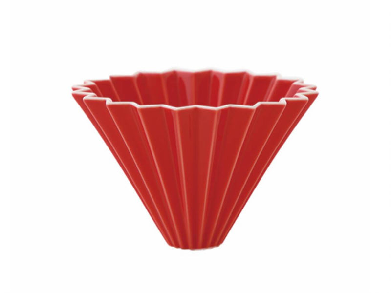Red Origami Dripper
