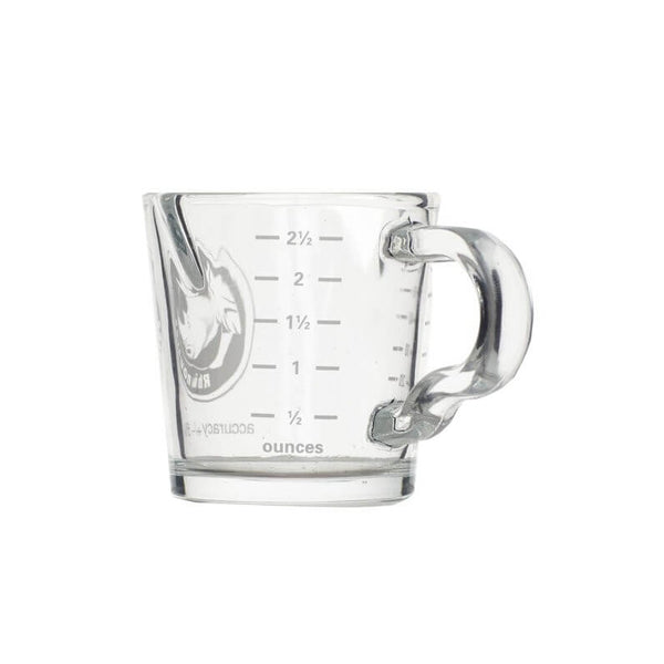 Dual Spout Shotglass With Handle