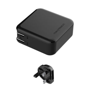 RAVPower / Power Bank / 2-in-1 5000mAh AC Plug PD QC3.0-Black