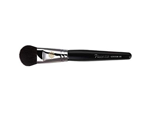 Piccasso Contour01 Blusher Shedding Brush for Makeup, Hard & Soft Color