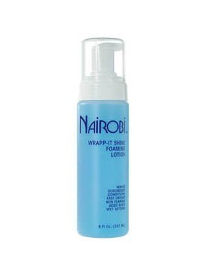 Nairobi Wrapp-It Shine Foaming Lotion(8 oz) by Nairobi BEAUTY by Nairobi