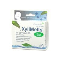 XyliMelts For Dry Mouth 40 Ct ( 4-Pack) by XYLIMELTS
