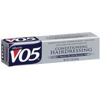 VO5 Conditioning Hairdressing Gray or White or Silver Blonde Hair, 1.5 Oz (Pack of 4) by Alberto VO5